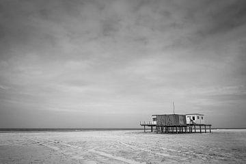 Strandtent in Noord-Holland van Roel Beurskens