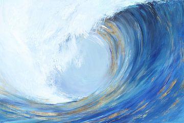 Wave-Curl-II, Isabelle Z  von PI Creative Art