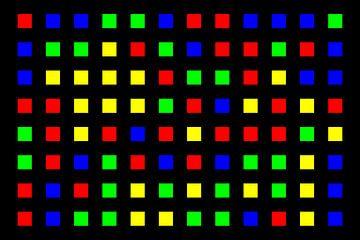 Nested | Center | 12x08 | N=01 | Random #02 | RGBY van Gerhard Haberern