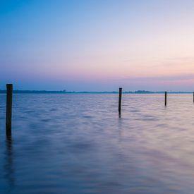 Een kalme zonsondergang aan de Belterwijde van Wilko Visscher