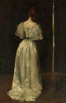 Dame des siebzehnten Jahrhunderts, William Merritt Chase - ca. 1895