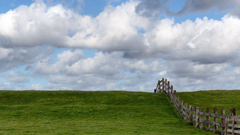 Hollands landschap van Annemiek van Eeden