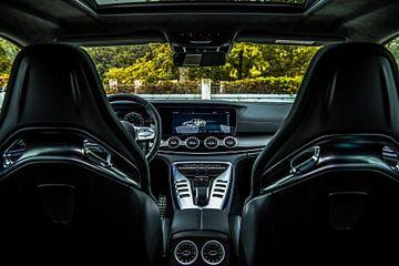Mercedes-Benz AMG GT 63 interieur van Bas Fransen