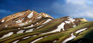 Kleurrijke bergen van