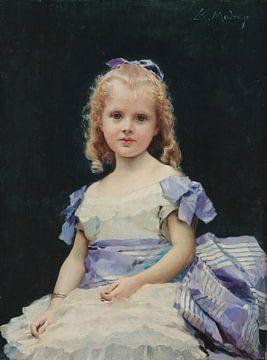 Raimundo Madrazzo~Porträt eines Mädchens