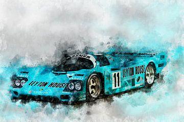 Porsche 962, Le Mans 1987 von Theodor Decker