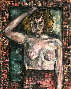 Nackte Frau, Arno Nadel von Atelier Liesjes