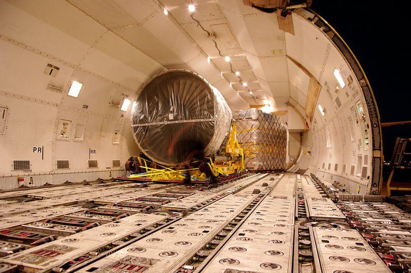 Vrachtvliegtuig van Wouter Sikkema