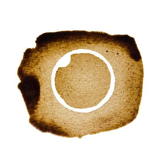 The inverse Coffee stain van Ricardo Bouman | Fotografie