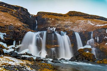 Merkjárfoss, Iceland van Andreas Jansen