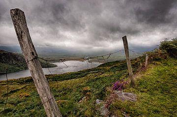 versleten hek, Ierland von Bas Wolfs