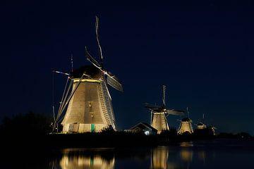 Kinderdijk Beleuchtungswoche 2019 von Ad Jekel