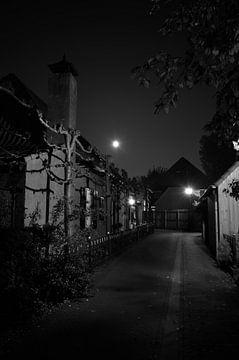Eine dunkle Gasse von Gerard de Zwaan
