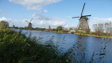 WIndmolens van Kinderdijk von Gijs van Veldhuizen