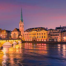 Ein Sommerabend in Zürich von Henk Meijer Photography