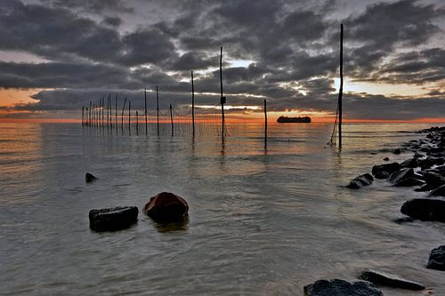 Vissersfuik Texel van