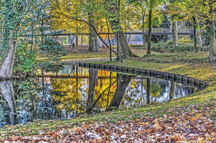 Herfst in het Museumpark van Frans Blok