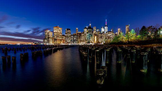 Skyline van New York City van Marco Schep