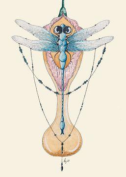 Die Libelle und der Kelch von Kirsten Jense