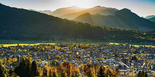 Oberstdorf im Allgäu von