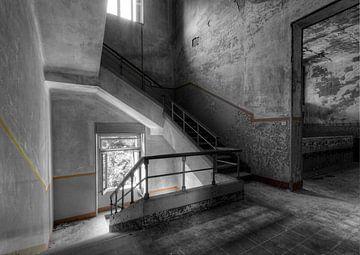 Treppe mit dem roten Streifen von Erik Borst