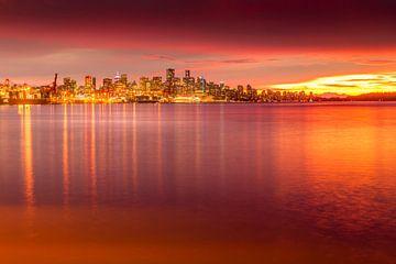Blick auf Vancouver, Skyline von BeeldigBeeld Food & Lifestyle