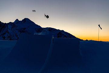 Skier en drone van Hidde Hageman