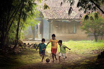 voetbal sur Edwin van Unen