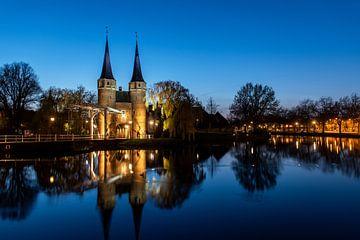 Delft. Osttor. Aufnahme am Abend von Gerrit de Heus