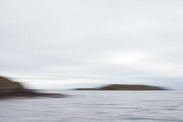Verstild zeelandschap 3 van Jolanda Sprokholt