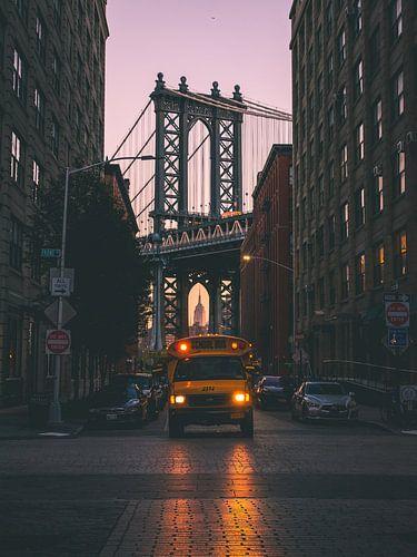 Classic New York City van