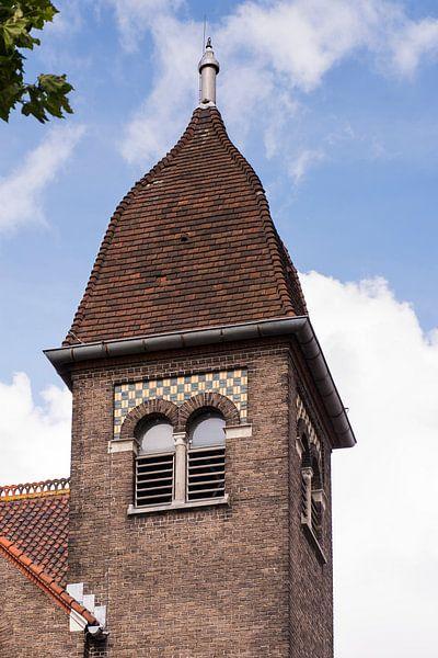 Toren Westvestkerk van Jan Sluijter