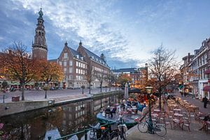 Nieuwe Rijn, Leiden van