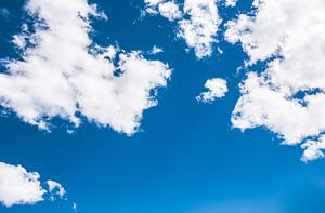 Lucht met wolken - the sky is the limit