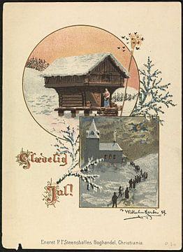 Glædelig jul!, 1889, Wilhelm Larsen van De Canon