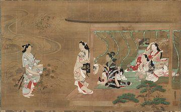 Tamura Suio - Besuch eines Liebhabers