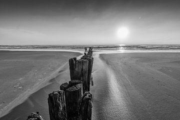 Wellenbrecher - Buhnen von Martin Bredewold