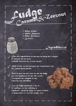 Dessert-Rezept: Fudge, Karamell & Meersalz von JayJay Artworks