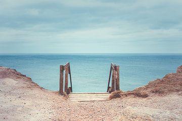 Trap naar het strand van Florian Kunde
