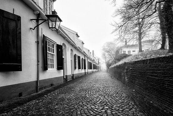Een verlaten Bruntenhof in Utrecht