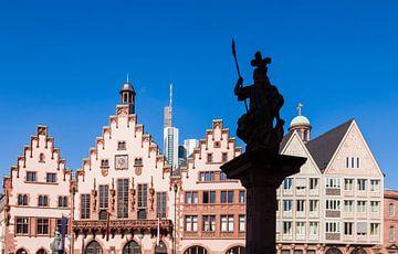 Römer am Römerberg in der Altstadt von Frankfurt von Werner Dieterich