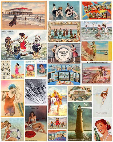 Vintage Summer Time van Bright Designs