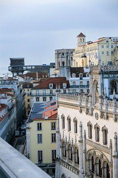 Blick über Lissabon von Kim van Dam