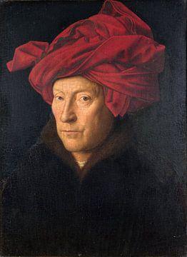Jan Van Eyck - Portrait of a man