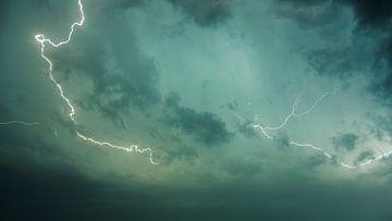 Photo abstraite d'un éclair sur Cynthia Hasenbos