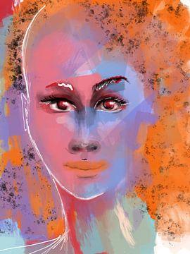 Julia van Afrotastic Art