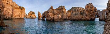 Côte de l'Algarve au Portugal sur Dennis Eckert
