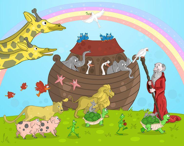 De ark van Noach van Jesse Boom