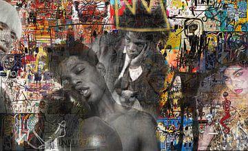 Masters at work, Jean-Michel Basquiat van Giovani Zanolino