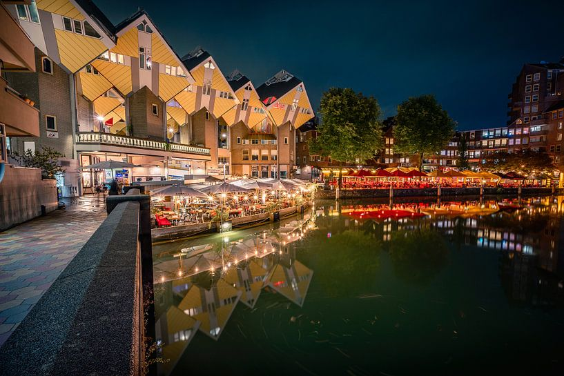Kubuswoningen in Rotterdam van Thom Brouwer